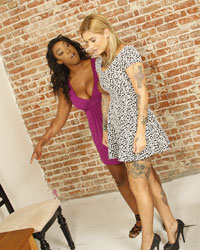 Black Dick Interracial Kleio Valentien & Lisa Tiffian