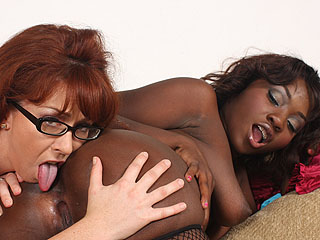 Trinity Post & Osa Lovely Xxx Interracial Sex